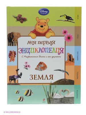 Моя первая энциклопедия Земля Эксмо. Цвет: серо-коричневый, салатовый