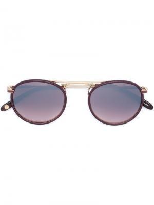 Солнцезащитные очки Cordova Garrett Leight. Цвет: красный
