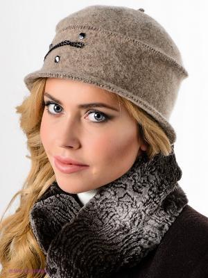Шляпа SEEBERGER. Цвет: темно-бежевый