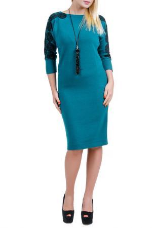 Платье Смайла LESYA. Цвет: голубой