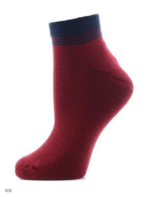 Носки женские H 050 Грация. Цвет: бордовый