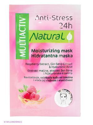 Увлажняющая маска  MULTIACTIV NATURAL AntiStress 24h. Цвет: фуксия