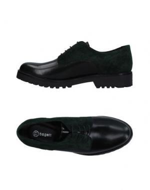 Обувь на шнурках BAGATT. Цвет: темно-зеленый