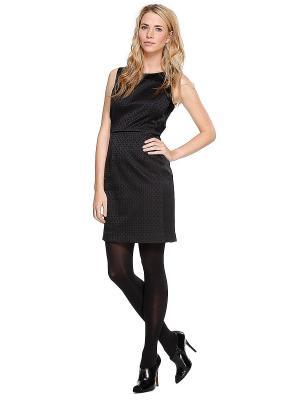 Платье S.OLIVER. Цвет: черный