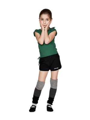 Шорты для физкультуры девочки МИКИТА. Цвет: черный