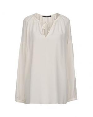 Блузка SLY010. Цвет: светло-серый
