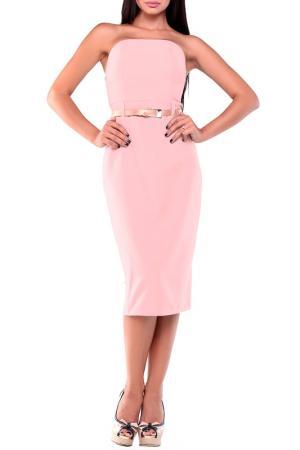 Платье Laura Bettini. Цвет: розовый
