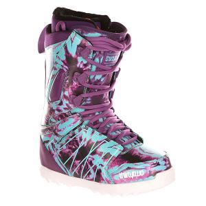 Ботинки для сноуборда женские  Z Lashed Assorted Thirty Two. Цвет: фиолетовый,голубой
