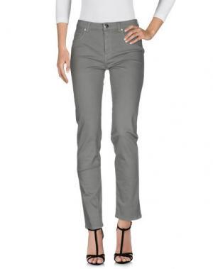 Джинсовые брюки BLUE LUXURY. Цвет: серый