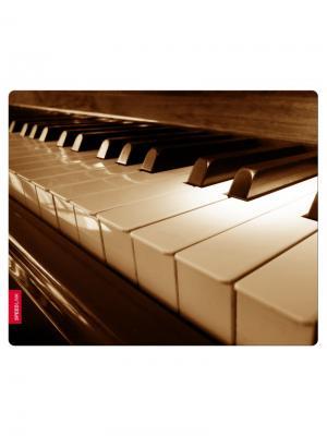 Коврик для мыши Speedlink SILK, Piano. Цвет: бронзовый, белый