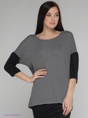 Кофточка Vero moda. Цвет: серый, черный