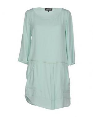 Короткое платье ADELE FADO. Цвет: светло-зеленый
