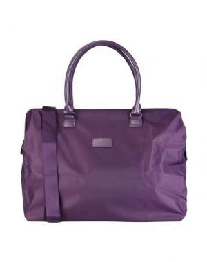 Дорожная сумка LIPAULT. Цвет: фиолетовый