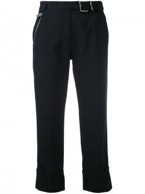 Укороченные брюки Carol Carven. Цвет: чёрный