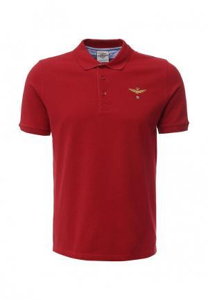 Поло Aeronautica Militare. Цвет: красный