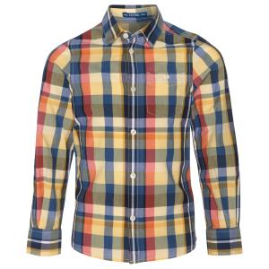 Рубашка Tom Tailor 203126200303124. Цвет: горчичная охра