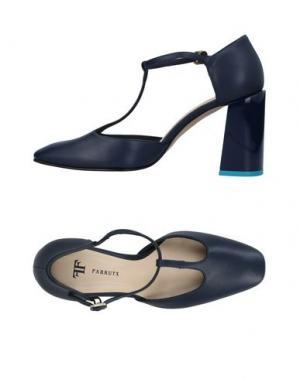 Туфли FARRUTX. Цвет: темно-синий