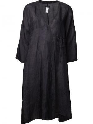 Платье с запахом Dosa. Цвет: чёрный