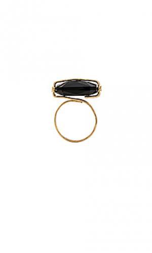 Кольцо clara Mimi & Lu. Цвет: металлический золотой