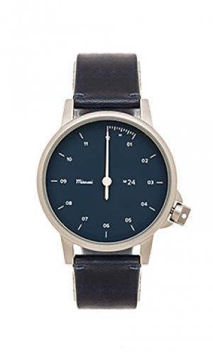 Часы m24 Miansai. Цвет: синий