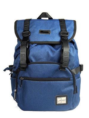 Рюкзак UFO PEOPLE. Цвет: синий, черный