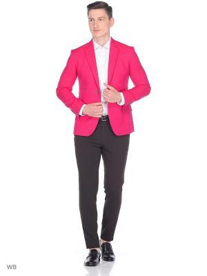 Пиджак ABSOLUTEX. Цвет: красный, фуксия