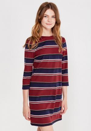 Платье Befree. Цвет: бордовый