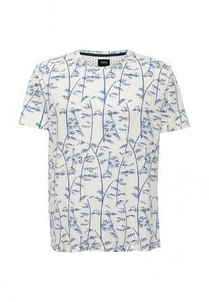 Футболка Burton Menswear London. Цвет: белый