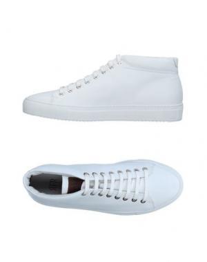 Высокие кеды и кроссовки FABIANO RICCI. Цвет: белый