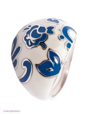 Кольцо SOKOLOV. Цвет: синий, молочный
