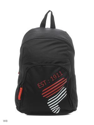 Рюкзак FILA. Цвет: черный