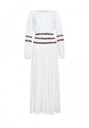 Платье Lucky Move. Цвет: белый