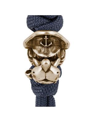 Брелок ручной работы Морской волк Mariner Brand. Цвет: темно-синий