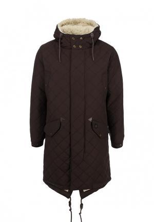 Куртка утепленная Merc. Цвет: коричневый