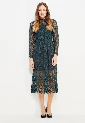 Платье Miss Selfridge. Цвет: зеленый