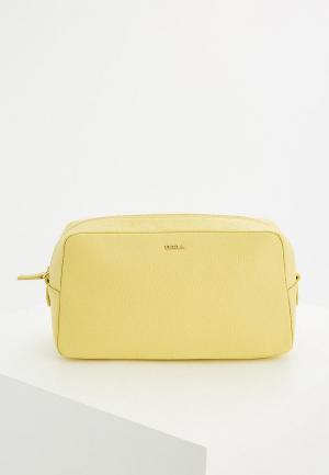Косметичка Furla. Цвет: желтый