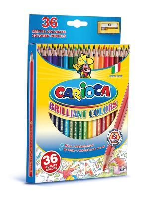 Набор карандашей цветных CARIOCA, 36 цв Universal. Цвет: синий