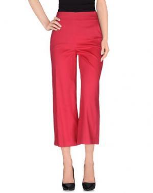 Повседневные брюки LE RAGAZZE DI ST. BARTH. Цвет: коралловый