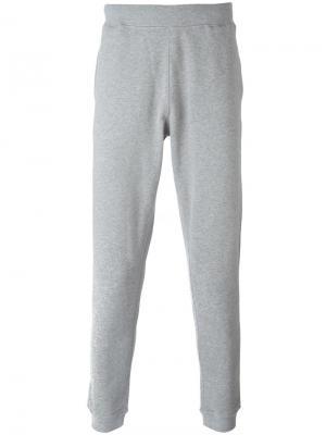 Классические спортивные брюки Sunspel. Цвет: серый