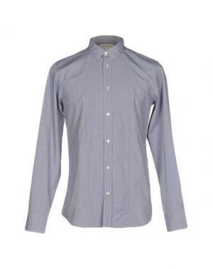 Pубашка MAURO GRIFONI. Цвет: синий