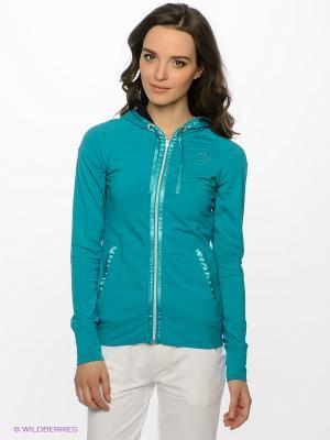 Толстовка W Amelie Joggingjacke turquoise Northland Professional. Цвет: бирюзовый