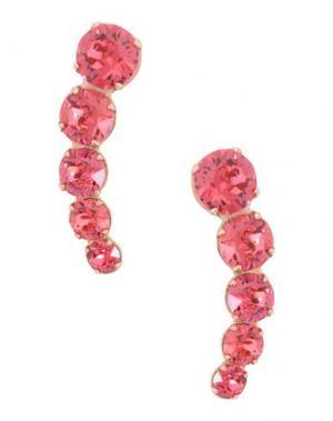 Серьги CA&LOU. Цвет: розовый