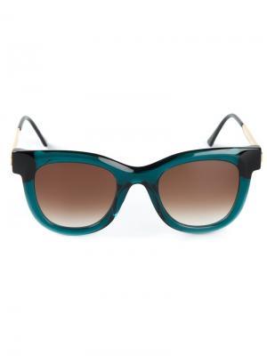 Солнцезащитные очки Nudity Thierry Lasry. Цвет: зелёный