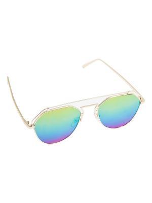 Солнцезащитные очки Kameo-bis. Цвет: золотистый, желтый, оранжевый