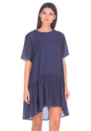 Платье Shelter. Цвет: синий