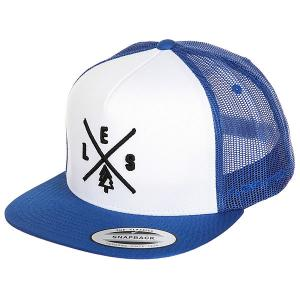 Бейсболка с сеткой  Trucker Royal/White/Royal Les. Цвет: белый,синий