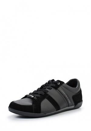 Кроссовки Tommy Hilfiger. Цвет: черный