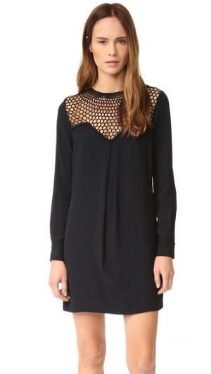 Платье Tate A.L.C.. Цвет: черный/черный