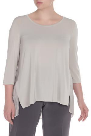 Рубашка-блузка Krizia. Цвет: бежевый