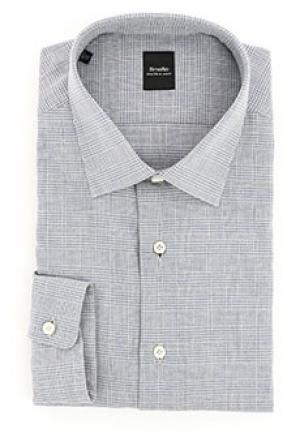 Рубашка SMALTO. Цвет: серый